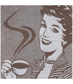 Paño rizo Miss Coffee