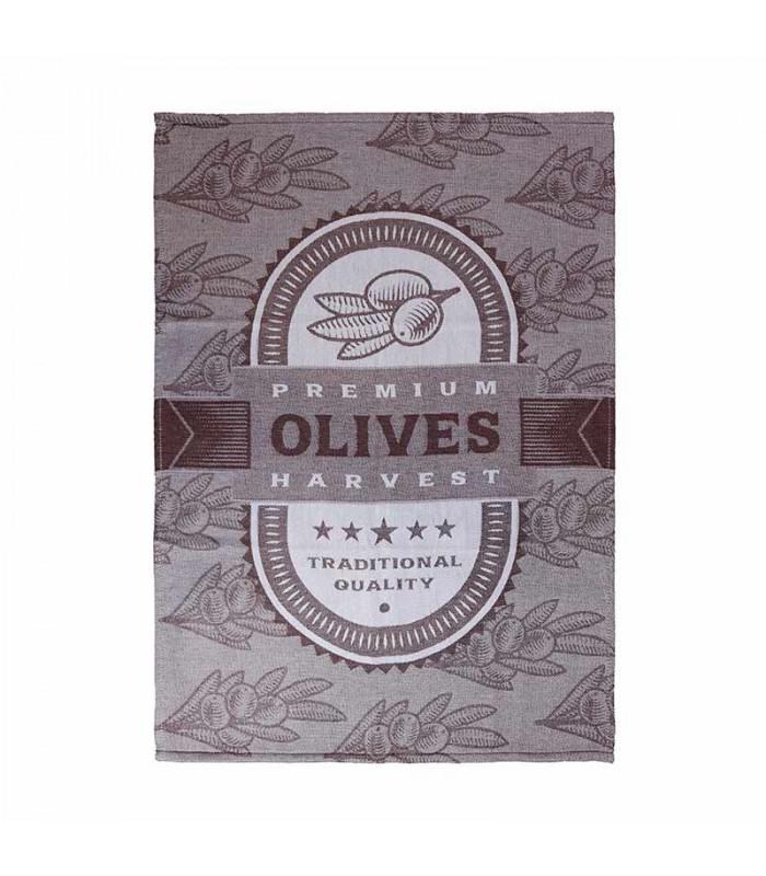 Paño sarga Olives