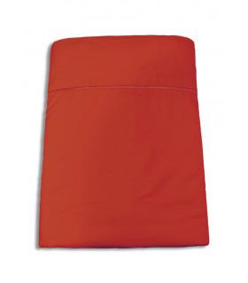 Encimera Percal 200 Hilos - Rojos