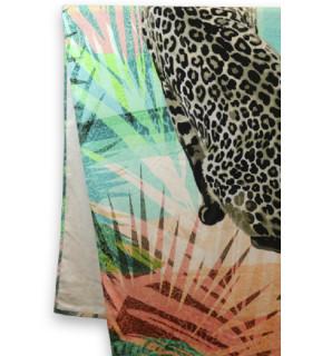 Toalla Playa Leopard